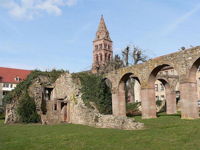 Munster Ruine Abbaye
