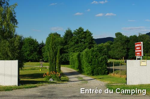 Entrée du Camping du Moulin